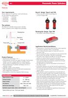 Pneumatické multisilové valce