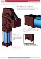 Výklopné pneumatické jednotky